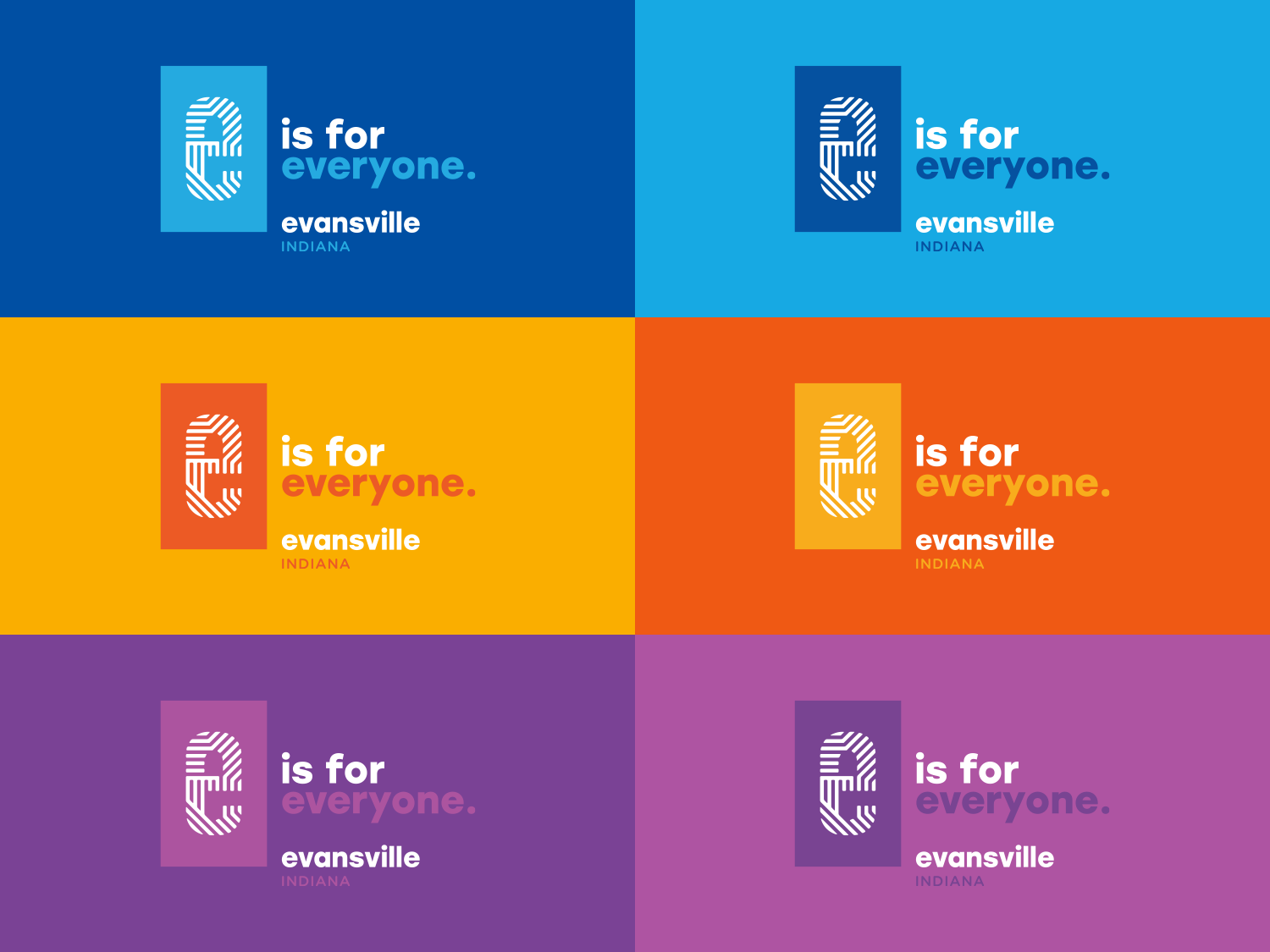e is for everyone color grid