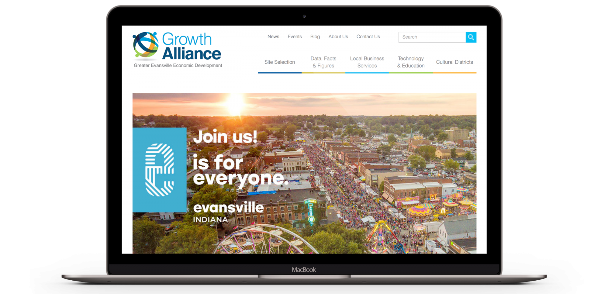 Growth Alliance of Greater Evansville Website