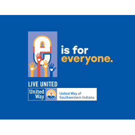 United Way E is for Everyone logo